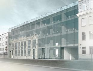 Przebudowa dawnej bożnicy żydowskiej na siedzibę Rady Miasta Białystok. Wyniki konkursu architektonicznego
