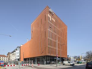 Biurowiec w centrum Wrocławia
