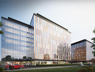 Cu Office - nowy wrocławski biurowiec projektu Medusa Group